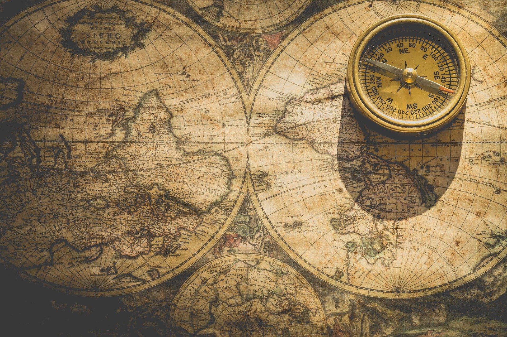 Carte du monde - Le Chant de l'Univers